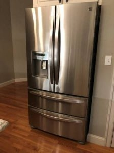 Kenmore Stainless Double Door Fridge/Freezer - $1200